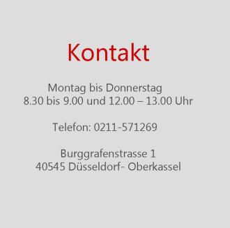 Heilpraktiker Düsseldorf, Schulmedizin Düsseldorf, Quantenheilung Düsseldorf